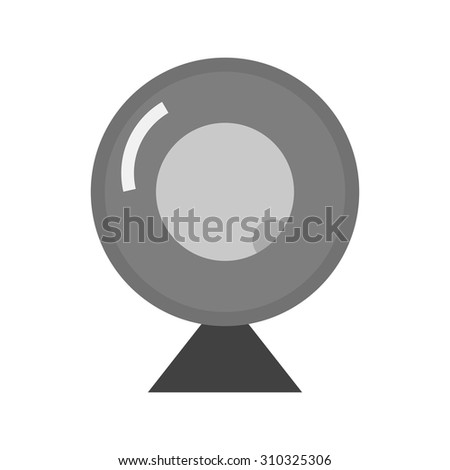 Camera, webcam, video icon vector image. Can also be used for computer and hardware. Suitable for use on web apps, mobile apps and print media. - stock vector