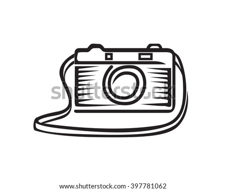 Camera With Strap Mirrorless Lens