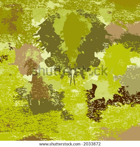 camouflage background - stock vector