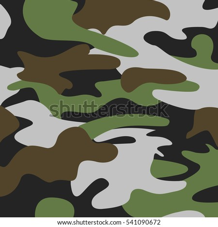 Camouflage, background. Vector illustration