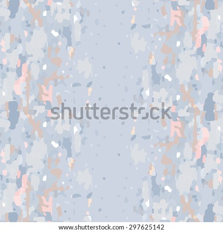 Camouflage seamless patten.  Abstract art. Rough pastel texture. - stock vector