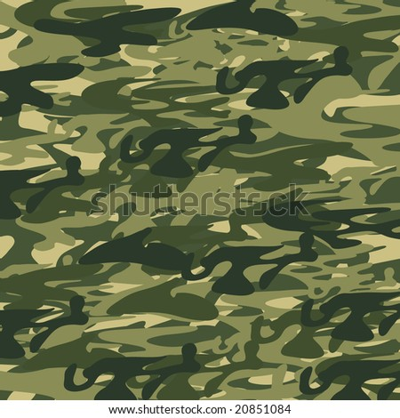 Camouflage. Vector. - stock vector