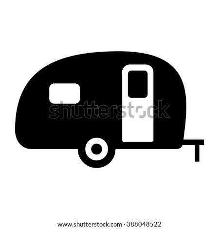 Camper Silhouette Stock Images Royalty Free Vectors