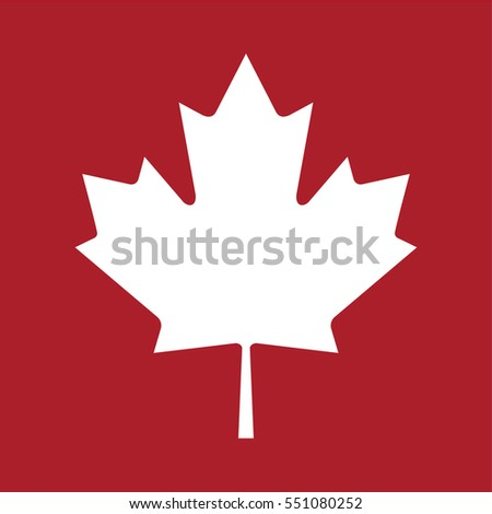 Happy Canada Day Greeting Card Poster Stock Vector
