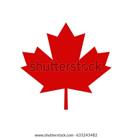 how to draw a canadian leaf