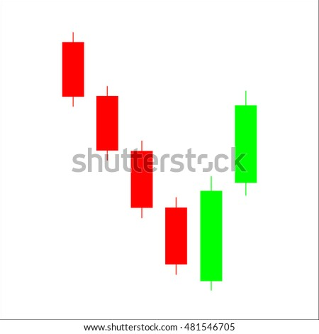 Stock Market Graphs Overall Dollar Icon Vector Ilration