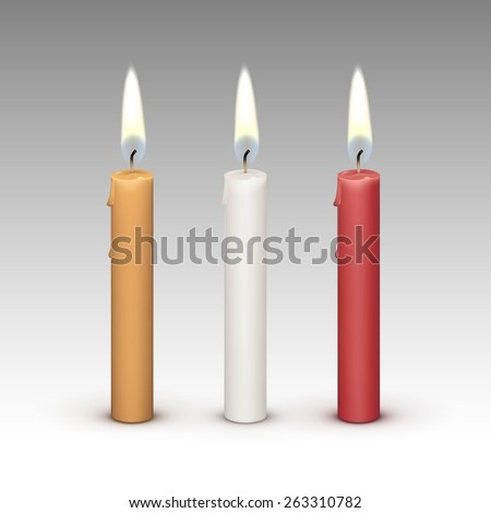 Burning Candle Stock Photos Royalty Free Burning Candle