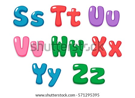 Candy Color Kid Font Part 3