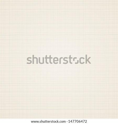 Canvas texture. Beige fabric. Vector illustration - stock vector