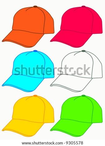 cap - stock vector