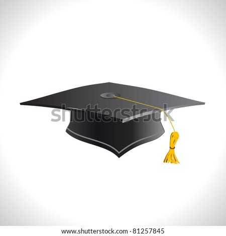 Cap isolated on a white background. - stock vector