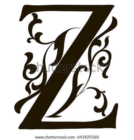 Capital Letter Z Large Illuminated