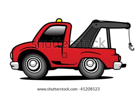 Car ambulance - stock vector