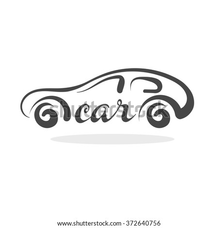 car, car icon, car icon vector, car icon line, car icon flat, car icon image, car icon picture, car icon graphic, car icon design, car logo, car cartoon, car drawing, car silhouette - stock vector