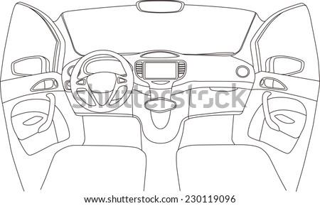 car cockpit stock photos royalty free images vectors shutterstock. Black Bedroom Furniture Sets. Home Design Ideas