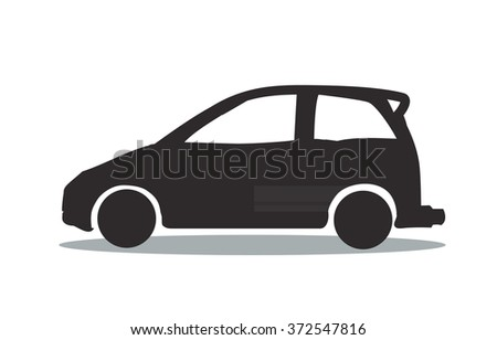 Car Icon / Car Icon Object / Car Icon Picture / Car Icon Drawing / Car Icon Image / Car Icon Graphic / Car Icon Art / Car Icon JPG / Car Icon JPEG / Car Icon EPS - stock vector