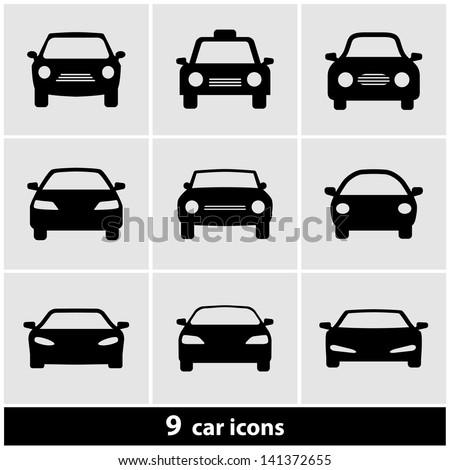 car icon set stock vector 141372655 shutterstock car vector icon set car vector icon