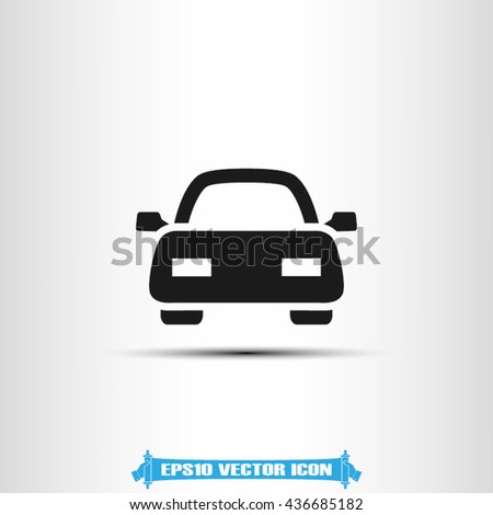 Car icon vector illustration eps10