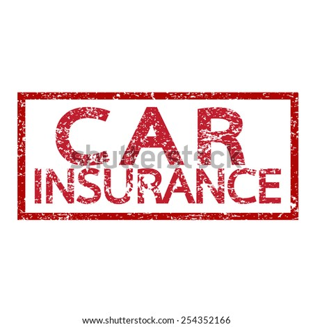 Car Insurance Word - stock vector