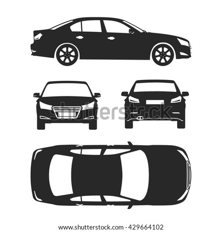 Car line draw insurance rent damage stock vector royalty free car line draw insurance rent damage condition report form blueprint malvernweather Image collections