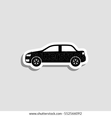 Car Sticker Stock Images RoyaltyFree Images Vectors Shutterstock - Car sign with namespaynos profile