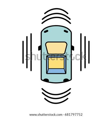 car transportation above sunroof stock vector 681797752 shutterstock rh shutterstock com Ice Cream Sandwich Clip Art Gas Clip Art