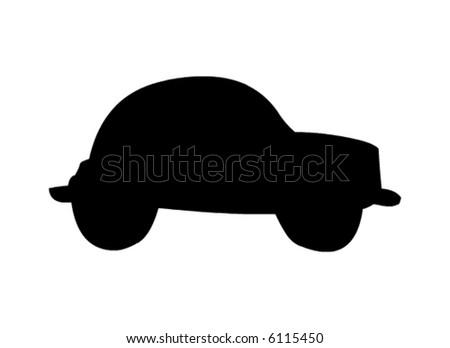 car vector - stock vector