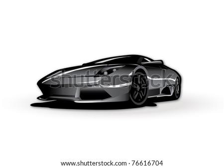 Car vector illustration - stock vector