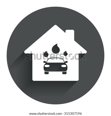 car wash icon stock images royalty free images vectors shutterstock. Black Bedroom Furniture Sets. Home Design Ideas