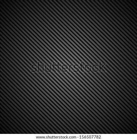 Carbon fiber background texture. Vector seamless pattern industrial material design - stock vector