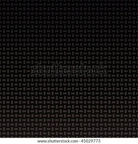 carbon fiber background with cross weave pattern and seamless repeat tile - stock vector