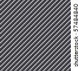 Carbon Fiber Seamless Background - light version - stock photo