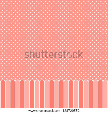 Card or invitation for baby, wedding, birthday - stock vector
