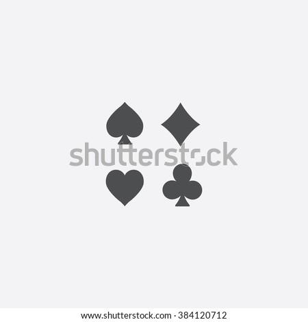 card suit Icon. card suit Icon Vector. card suit Icon Art. card suit Icon eps. card suit Icon Image. card suit Icon logo. card suit Icon Sign. card suit Icon Flat. card suit Icon design. - stock vector