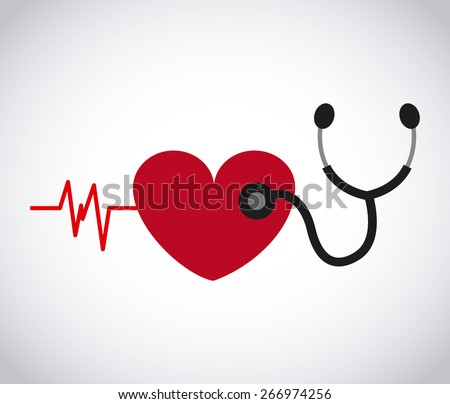 cardiology health design, vector illustration eps10 graphic