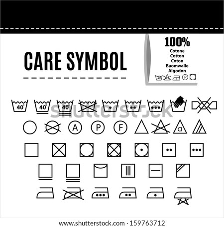 Care icon set. - stock vector