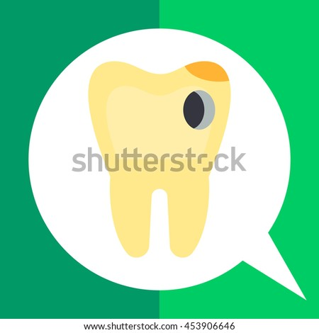 Caries Vector Icon