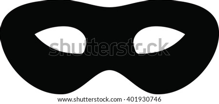 Carnival mask. vector illustration. - stock vector