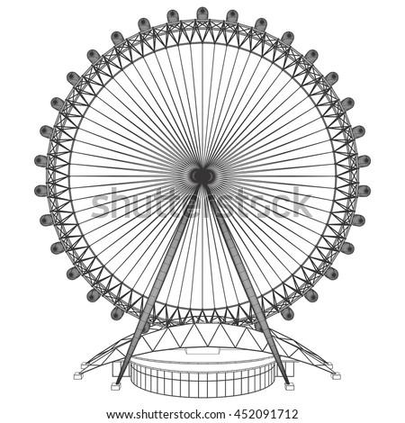 Carousel Vector 44 - stock vector