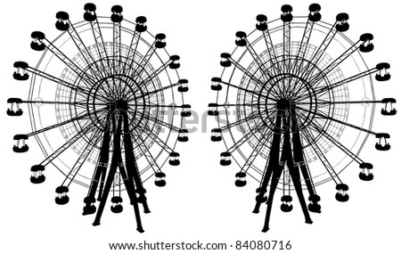 Carousel With Compass Vector 15
