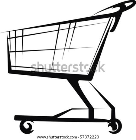 cart - stock vector
