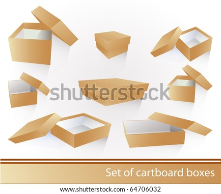 Cartboard box set