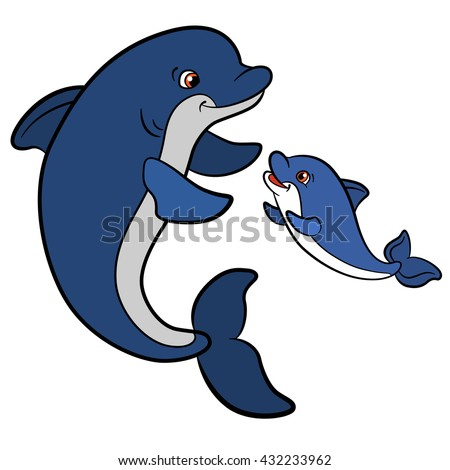 Baby Dolphin Stock Images, Royalty-Free Images & Vectors ...
