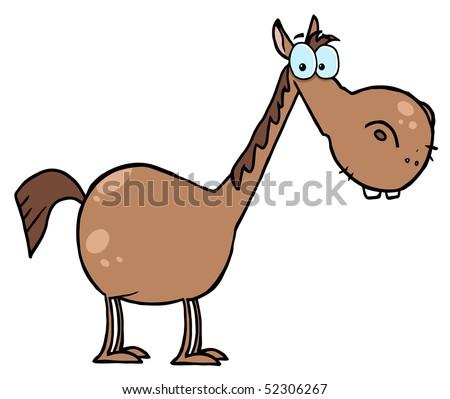 haflinger horse Cartoon Riding Pony Gift Present ...