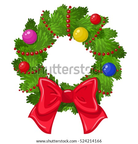 green christmas wreath stock photos royalty free images