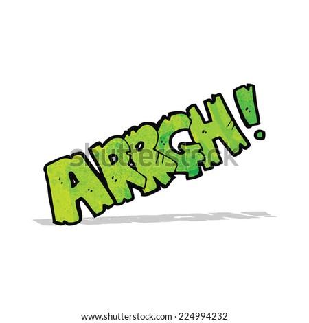 cartoon comic book scream - stock vector