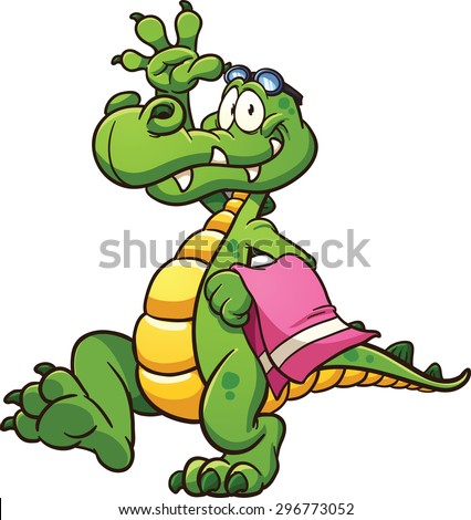 Cartoon Alligator Stock Images, Royalty-Free Images ... - photo#19