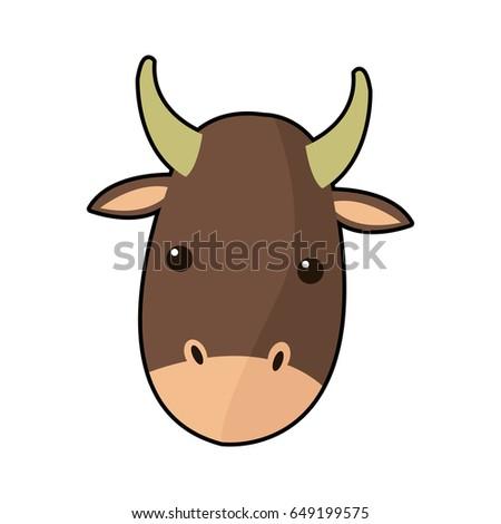 Cute Ox Clipart