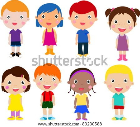 cartoon drawings of children - Cartoon Image Of Children