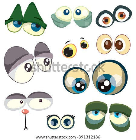 Cartoon Eyes Stock Images, Royalty-Free Images & Vectors ... - photo#19